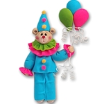 Belly Bear Clown<br>Personalized Ornament