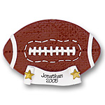 Football<br>Personalized Ornament