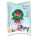 Z-NEW<br>Whizzo<br>Personalized Elf Ornament