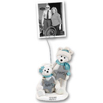 Polar Bear Couple<br>Personalized Photo Holder
