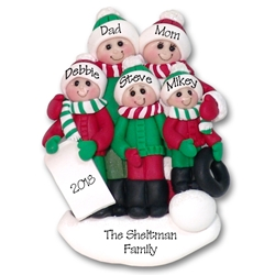 Polymer Clay Christmas Tree Decorations.Deb Co Personalized Christmas Ornaments