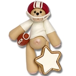 RED Football Belly Bear on SALE!