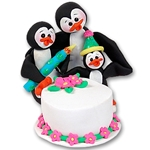 NEW!<br>Petey Penguin's<br>Birthday Bash Figurine