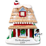 Large House<br>Personalized Home Ornament