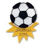 Soccer Ball<br>Personalized Ornament