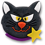 Halloween Cat<br>Personalized <br>Halloween Ornament