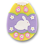 Lavender Easter Egg<br>Personalized Easter Ornament