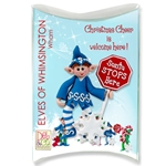 Z-NEW Wham Personalized Elf Ornament in Custom Gift Box