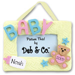 Baby<br>Personalized Ornament<br>Picture Frame