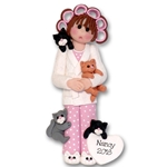Crazy Cat Lady Personalized Christmas Ornament  - Limited Edition