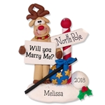 Rudolph the  Reindeer Personalized Ornament - Limited Edition