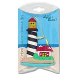 Larry Lighthouse Personalized Ornament in Custom Gift Box