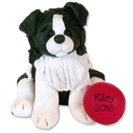 """Riley"" The Border Collie Puppy Pal Ornament Limited Edition"