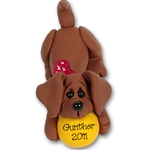 """Gunther"" Daschund<br>Dog Ornament"