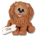 """Chia"" The Pomeranian Puppy Pal Ornament Limited Edition"