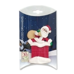 Santa #2  in Chimney Personalized Christmas Ornament  - Limited Edition