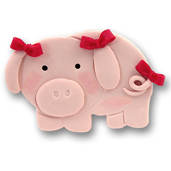 Pig Personalized Ornament