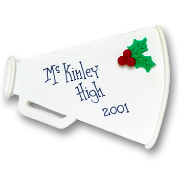 Megaphone<br>Personalized Ornament