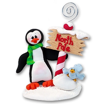 Petey Penguin<br>Personalized Photo Holder