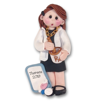 Female Pharmacist Personalized Ornament - Limited Edition